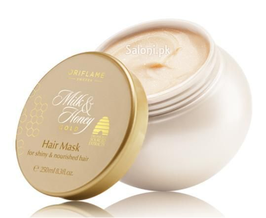 ORIFLAME MILK & HONEY GOLD HAIR MASK 250 ML Saloni™ Health