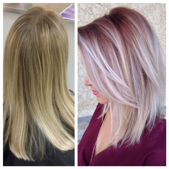Transformation Rooty Rose To Ice Career Dr Oz Hair