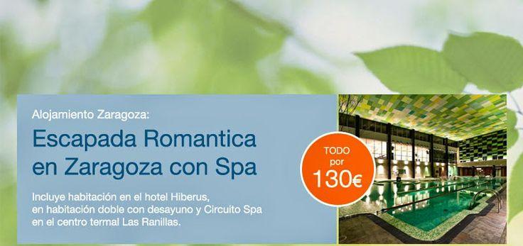 GASTRONOMÍA EN ZARAGOZA: ESCAPADA ROMANTICA CON SPA, HOTEL HIBERUS, PALAFOX...