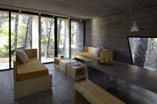 Casa Hormigón interior