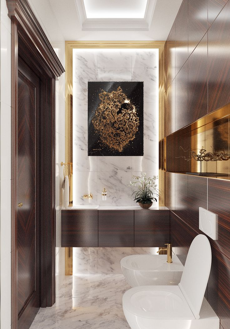 Photorealistic WC 3D Visualization 1630 best 3D
