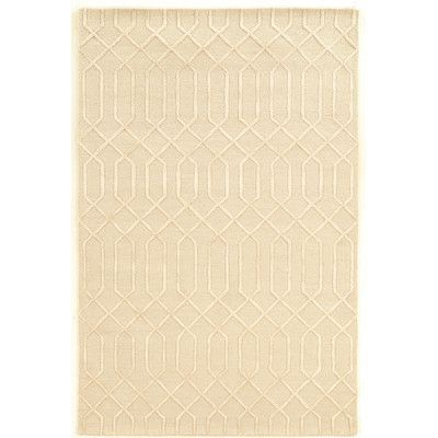 House of Hampton Cheshunt Hand-Tufted Beige Area Rug Rug Size:
