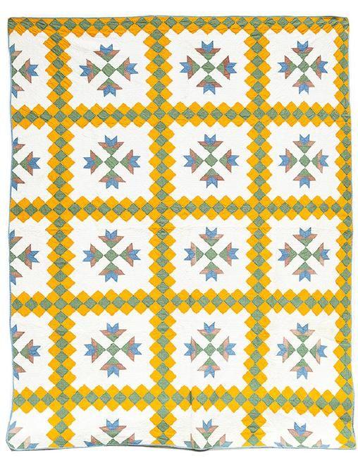 Fine Pieced Quilt c1880