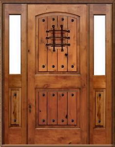 Solid Wood Exterior Entry Door With Sidelights New Replacement Front Door Ebay Home Design Pinterest Doors House And Home