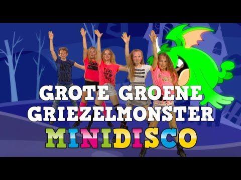 Gruwelijk Eng | Zombiedans | Kinderliedjes | Griezelliedjes | TEKST | Minidisco - YouTube