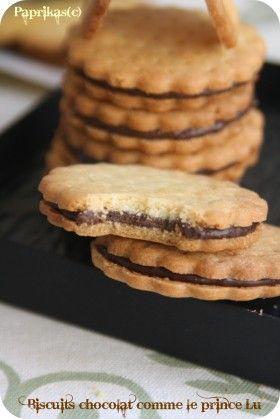 Je le dis et le redis, je suis fan des sablés ! J'adore cela et avec ma recette fétiche ci-dessous je la décline en plusieurs sortes de biscuits ou de fonds de tartes. Cette fois-ci, j'ai opté pour une imitation des biscuits de Prince de Lu. Mon fils...