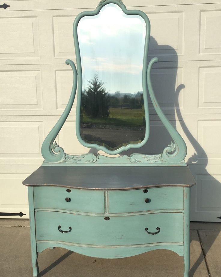 SOLD! SOLD! Gorgeous Antique Dresser Dressing Table with Mirror by AntiquesAtHarvestLn on Etsy https://www.etsy.com/listing/464213168/sold-sold-gorgeous-antique-dresser