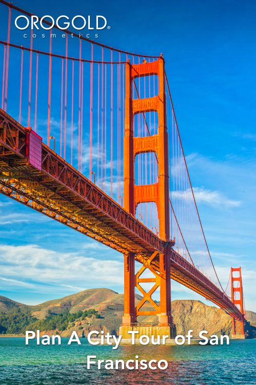 OROGOLD shows you how to plan a city tour of San Francisco.