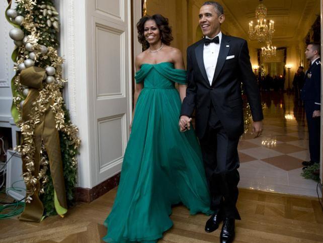 Michelle Obama, de Marchesa