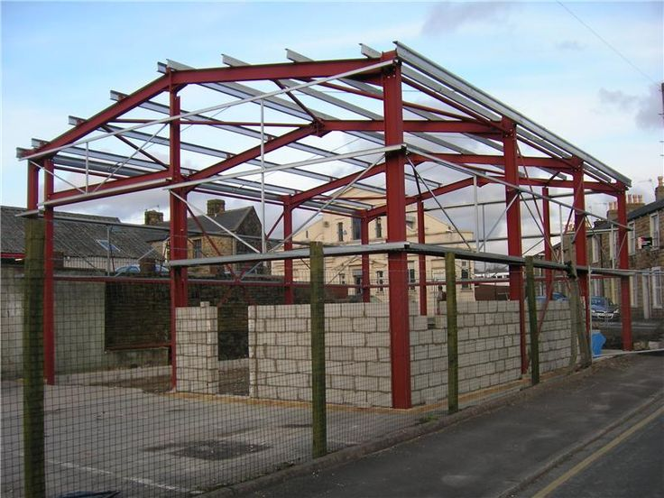 Image Result For 12m Span Portal Frame With Sips Roof