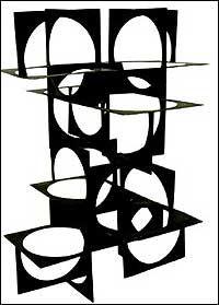 """Franz Weissmann - """"Ponte"""" - 1958."""