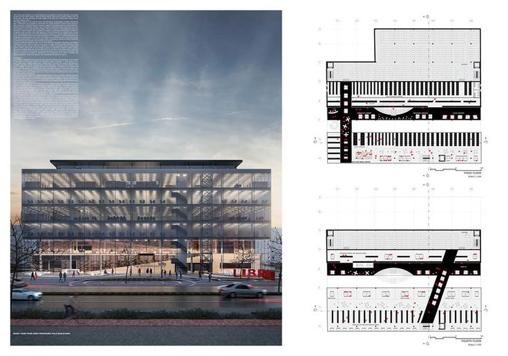 1st Prize - Library of Varna  Project by: ARCHITECTS FOR URBANITY, NETHERLANDS