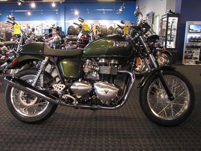2014 Triumph THRUXTON for sale in Salem, VA | Frontline Eurosports (540) 387-9780