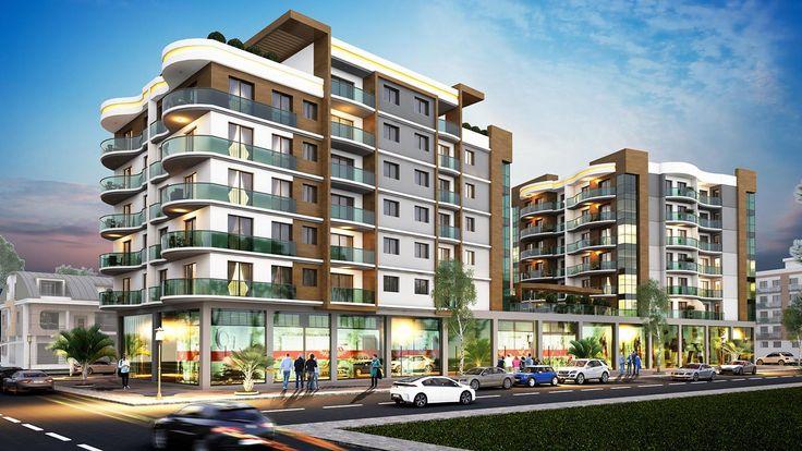 #mimarlık #mimari #dış #cephe #tasarım #3d #building #design #facade #architecture #architectural #konut #residential #housing #apartment #modern #kentseldönüşüm #bina #rezidence #rezidans