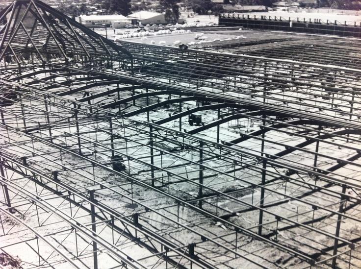 Karrinyup Shopping Centre construction site - image taken on the 28th December 1972 #karrinyups40thbirthday