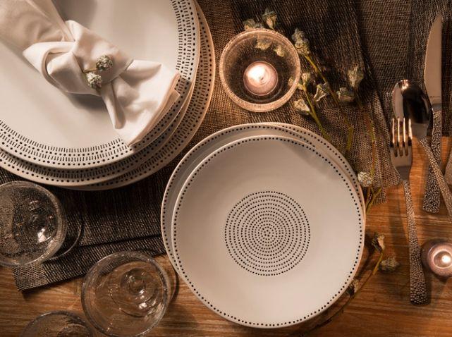 Deco table automne ethnique