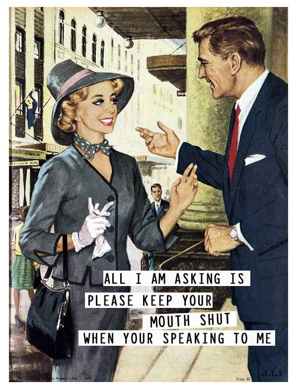 retro funny.....except it should be YOU'RE #OCD