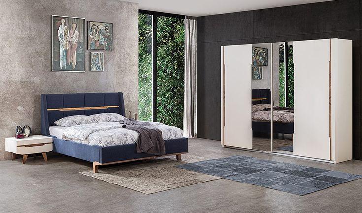 inegöl mobilya Hermes  Yatak Odası Takımı