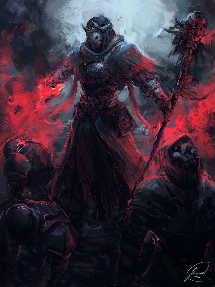 ArtStation - Necromancer, Jason Nguyen