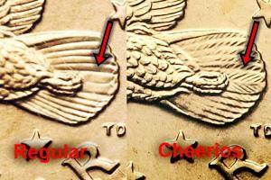 J-US0100_2000_Sacagawea_Reg_vs_Cheerios_rev.jpg - Image Copyright: © 2014 James Bucki; All rights reserved.