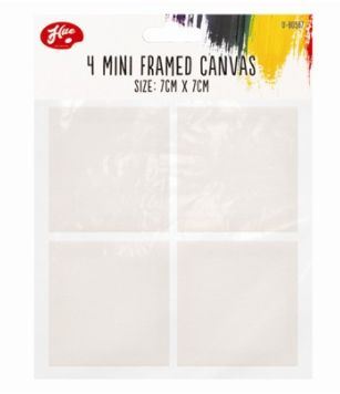 Små Canvas 4pack