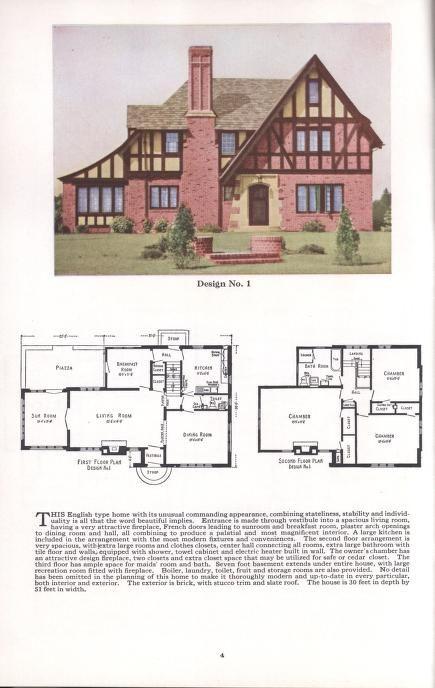 469 Best Vintage Home Plans Images On Pinterest Vintage