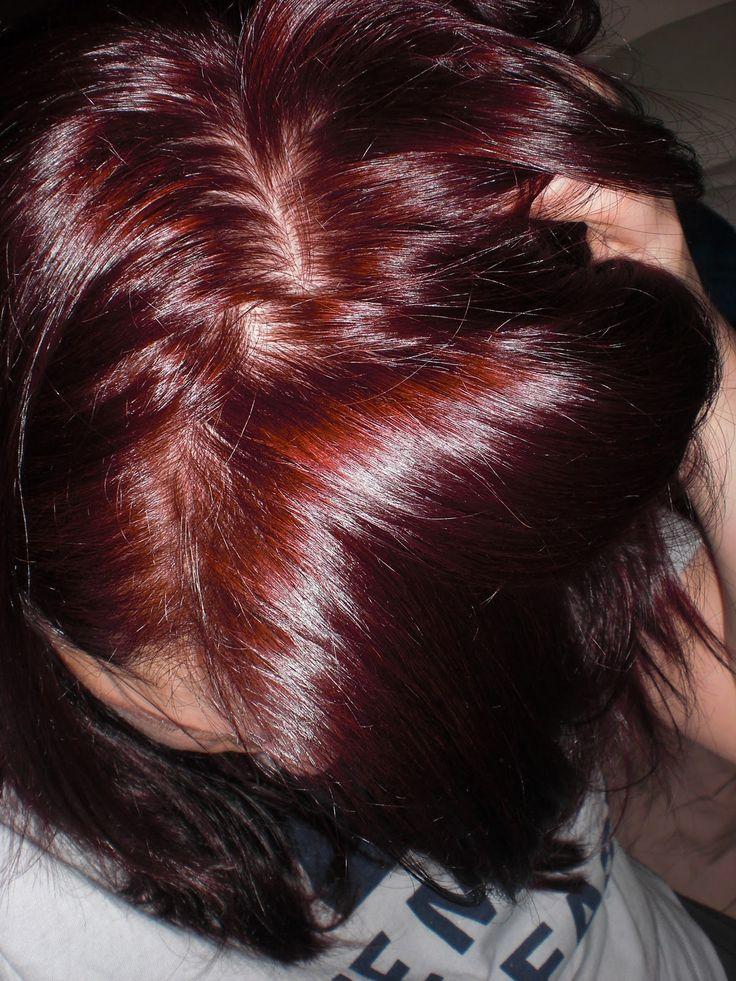 Age Beautiful Hair Color Dark Red Mahogany Brown Google