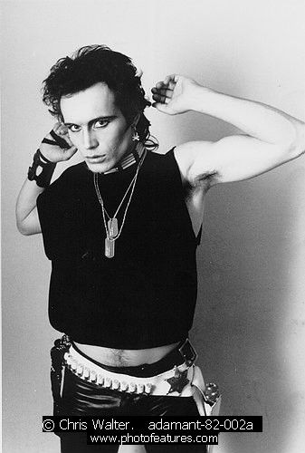 Adam Ant adamant-82-002a photography by © Chris Walter