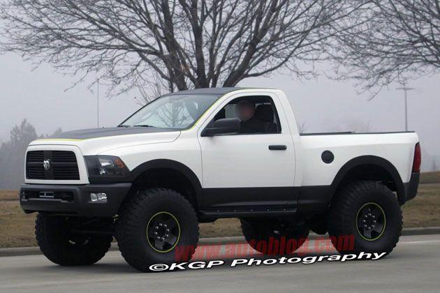 ??? 2013 Dodge Ram Power Wagon Spy Shot ???