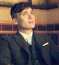 Tommy Shelby(Cillian Murphy). Can't get enough of that smile, that jawline and those eyes!