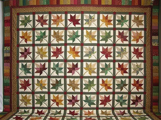 King Autumn Splendor Quilt