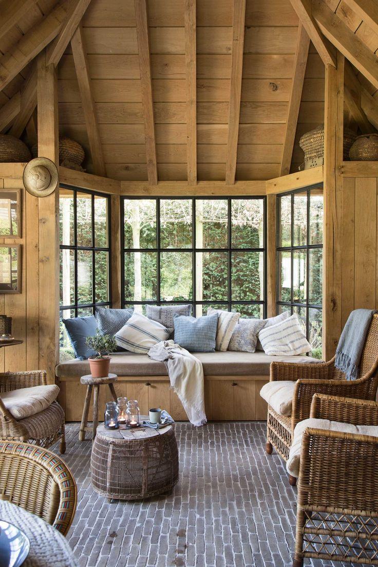 25 beste idee n over landelijk wonen op pinterest landleven citaten boerderijen en land - Deco stijl chalet ...