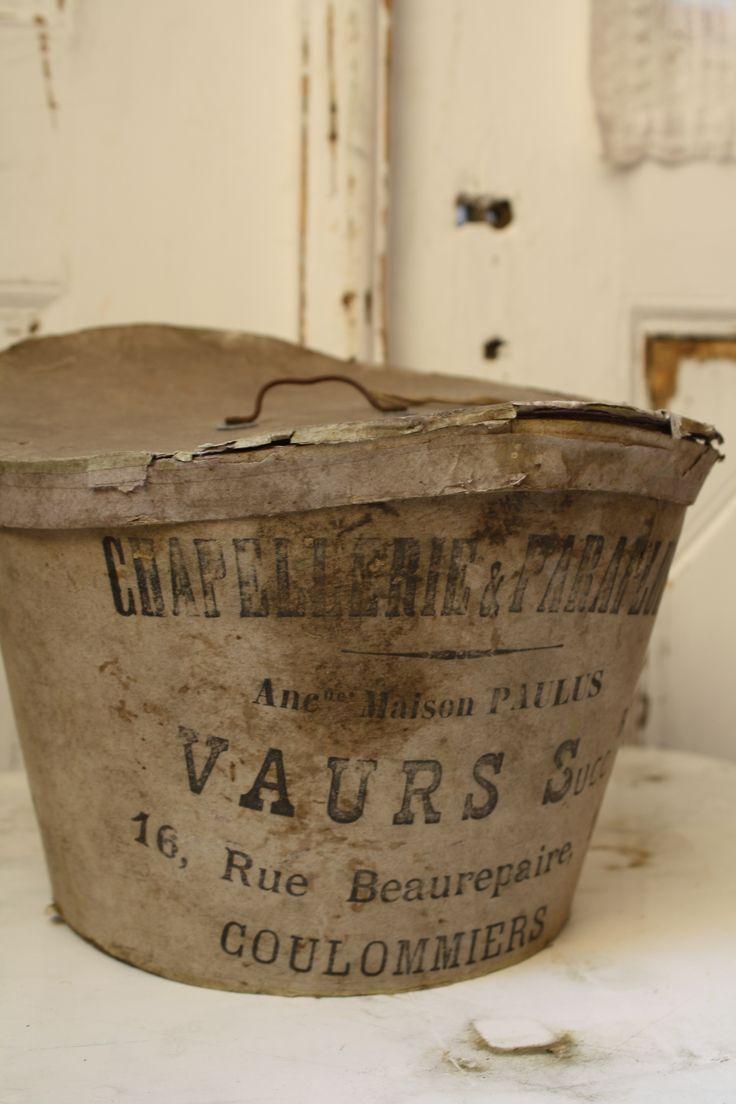 old hat box