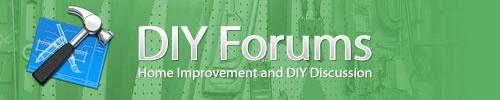 DIY Forums: home improvement, appliances, building, concrete, electrical, flooring, painting, decorating, plumbing, plastering, roofing, tools, windows, doors!