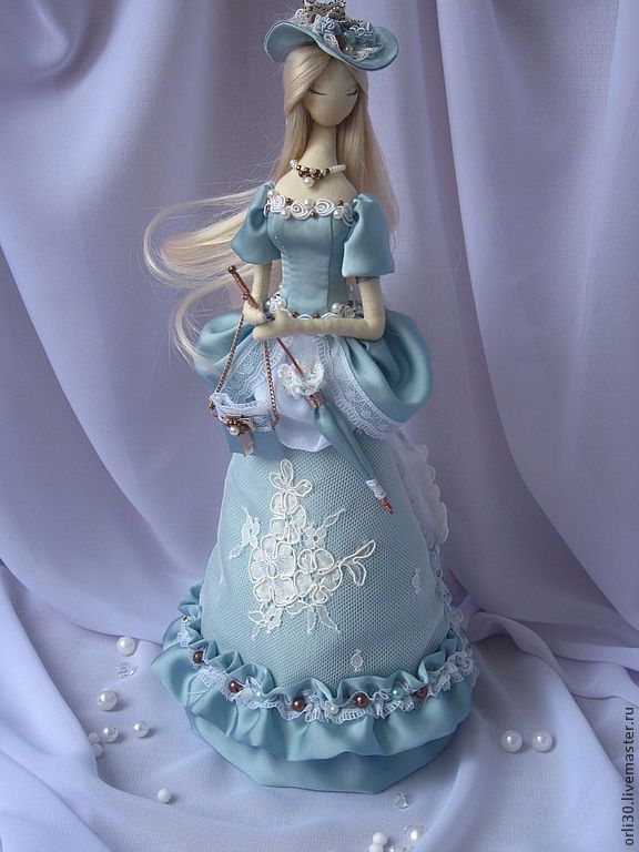 Купить Текстильная кукла. Тряпиенса. Валерия - тряпиенс, корейские тряпиенсы, текстильная кукла, кукла в подарок ♡