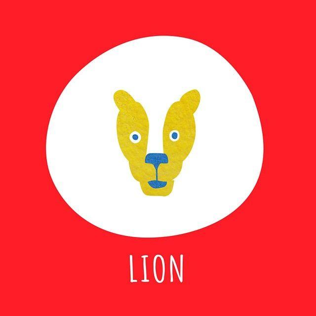 LION #Illustration #lion #イラスト #ライオン