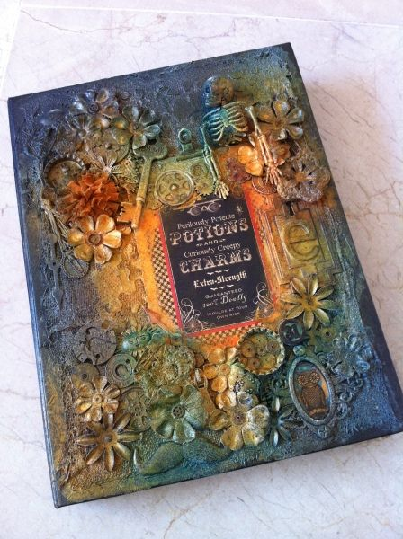 Steampunk Spells Box and Mini by Aideen Fallon! From the Ning Gallery #graphic45 #mixedmedia