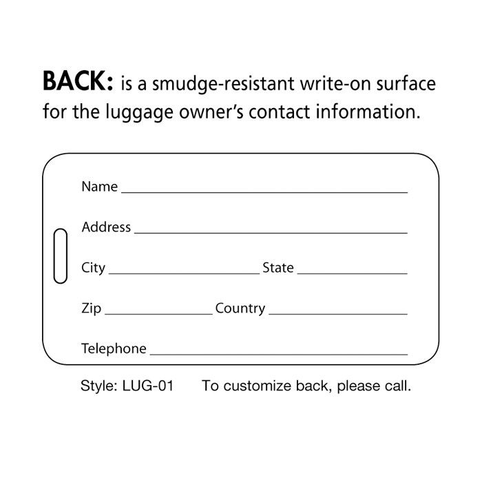 25 Best Of Printable Luggage Tags Template In 2020 Luggage Tag