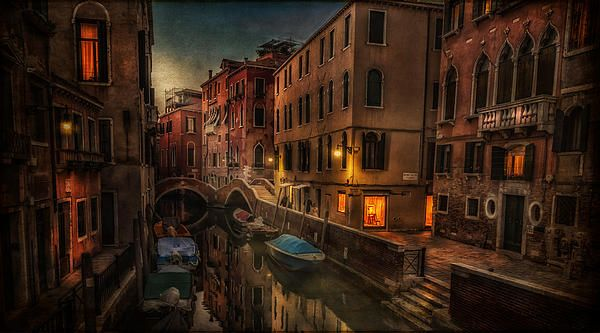 """Sunset In Venice"" by Dobromir Bobrinov"