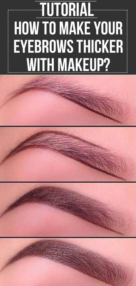 25 Schritt für Schritt Anleitung für die Augenbrauen, um Ihren Look zu perfekt…