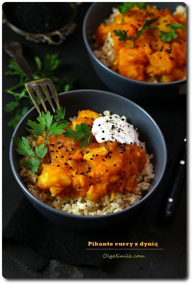 Pikantne curry z dynią Olgi Smile