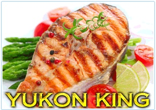 Yukon King Salmon Steaks