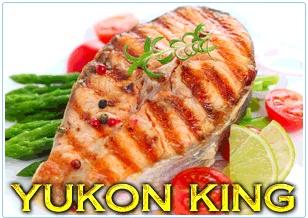 Yukon King Salmon Steaks