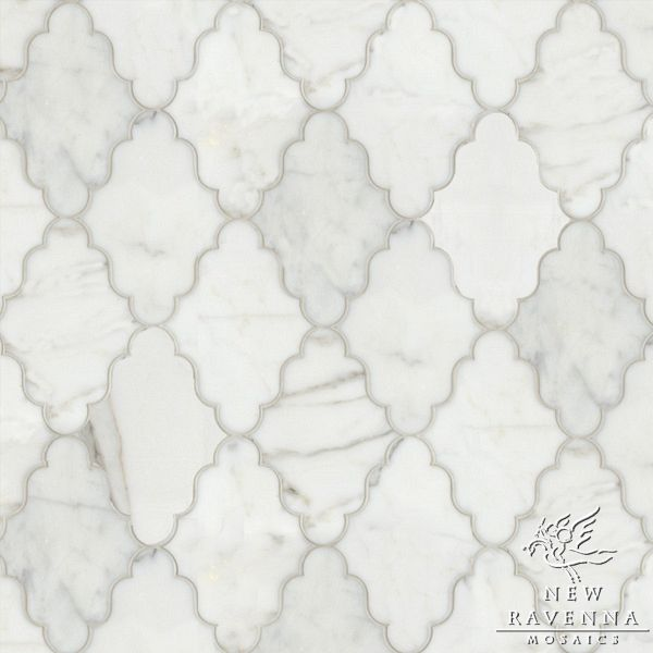 Marble Floors By New Ravenna Silk Road Marble Calacatta Tia Tile