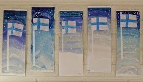 Anna idean kiertää!: 6. päivä: Suomen lippuja