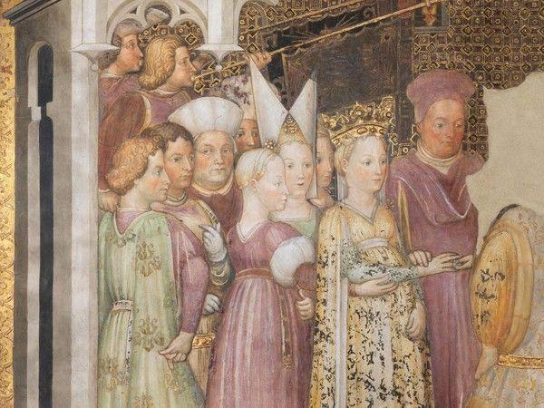 Bottega degli Zavattari, Nozze di Agilulfo e Teodolinda. © Museo e Tesoro del Duomo di Monza/foto Piero Pozzi