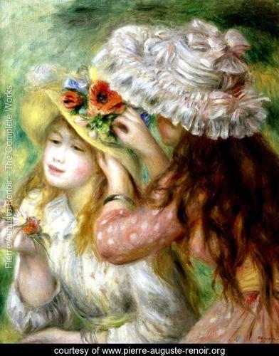 Summer Hats - Pierre Auguste Renoir - www.pierre-auguste-renoir.org