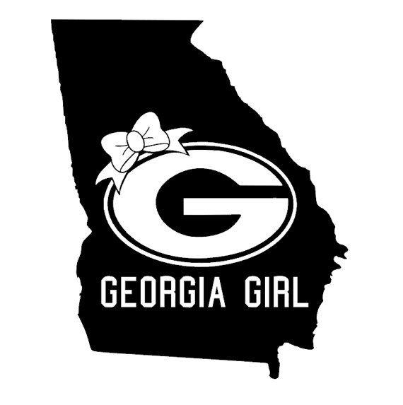 Georgia girl vinyl  decal by PaZaBri on Etsy, $8.00