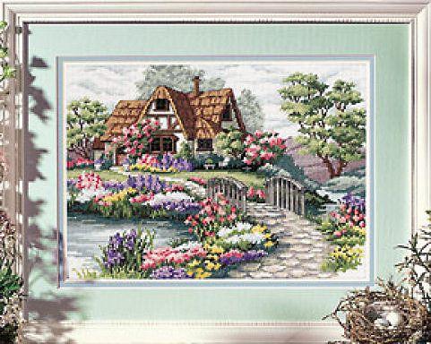 Cross-stitch Cottage, part 1