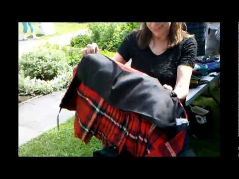 How to make a kilt by Bonnie, she dances with my daughter also in NYC